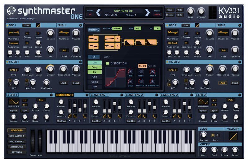 KV331 SynthMaster VST Crack