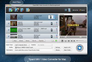 Tipard MKV Video Converter Crack