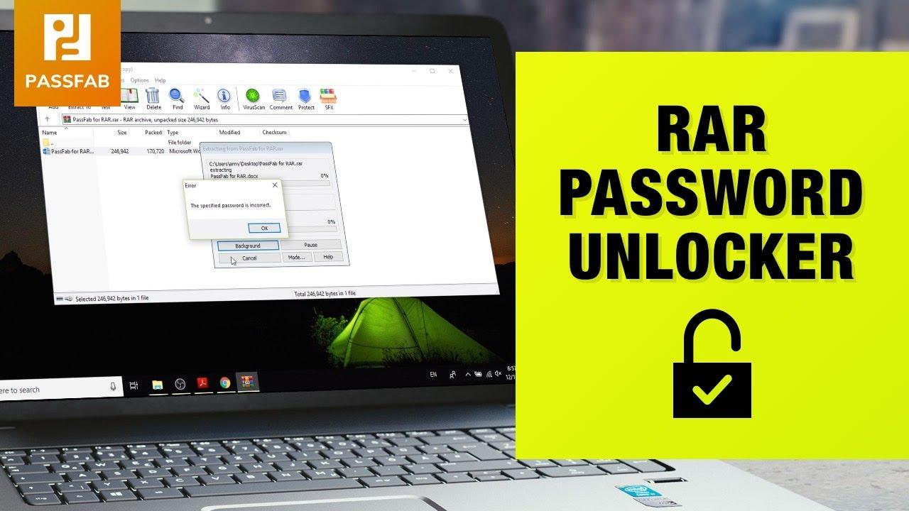 PassFab for RAR Crack
